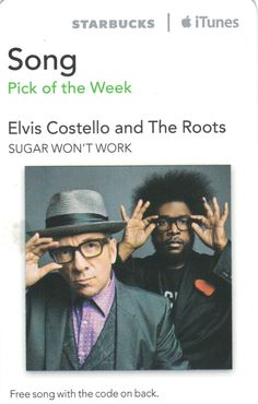 Elvis Costello and The Roots-Sugar Won't Work