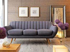 AURIS SOFA 2 OSOBOWA W STYLU RETRO | Sofa Retro, Scandi, Shabby , Loft  Style Sofas | Pinterest | Retro