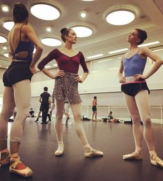 royal ballet rehearsal