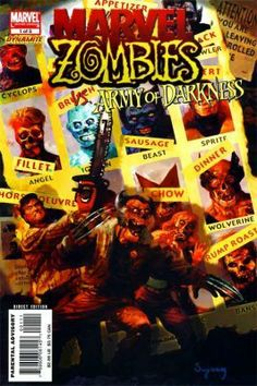 """MARVEL ZOMBIES VS. ARMY OF DARKNESS #1 """"1ST PRINT"""""""
