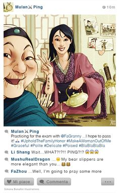 Selfie Fables | Mulan by SimonaBonafiniDA on DeviantArt