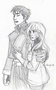 Kai and Cinder. Idk why but I love this picture :)