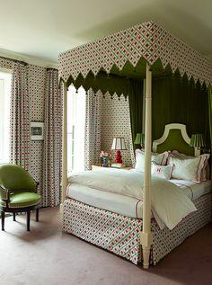 Portfolio   Katie Ridder bedroom canopy bed