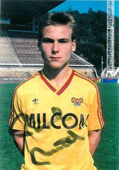 Pavel Nedved at Dukla