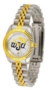 Wichita State Shockers WSU NCAA Womens 23Kt Gold Watch SunTime. $143.59