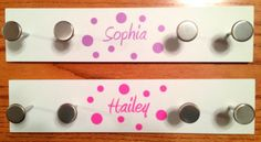 Custom Name with Dots Cell Phone Water by PersonalizedJewellz, $1.50