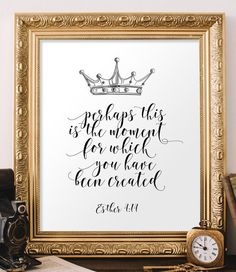Nursery bible verse art Scripture art print by TwoBrushesDesigns