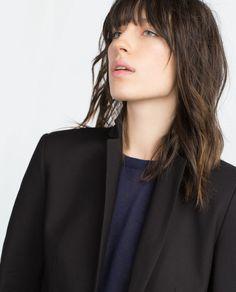 Image 2 of DOUBLE FABRIC BLAZER from Zara