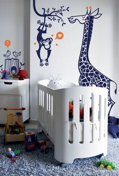 stickers enfants : kit savane : Accessoires & décorations par E-GLUE