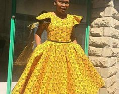 The Best Tswana African Traditional Wear Pictures. We have lots of tswana traditional dresses for bridesmaids, tswana wedding dresses pictures, tswana traditional wedding dresses, tswana makoti dress. African Print Dresses, African Print Fashion, African Fashion Dresses, African Dress, African Fabric, Ankara Dress, African Prints, African Clothes, Ankara Fashion