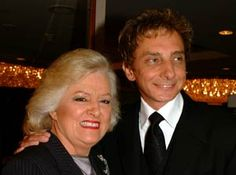 BMI's Frances Preston and Barry Manilow