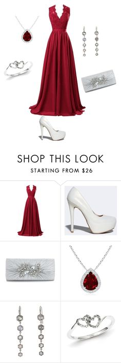 """""""Untitled #2"""" by munevera-berbic ❤ liked on Polyvore featuring R&J, Qupid and Kevin Jewelers"""