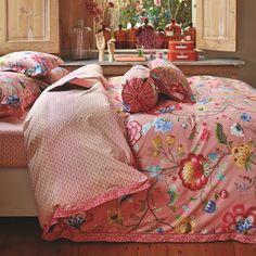 """PiP Studio Bettwäsche """"Floral Fantasy"""" (Pink)"""
