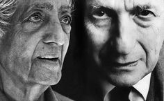 Physicist David Bohm and Philosopher Jiddu Krishnamurti on Love, Intelligence, and How to Transcend the Wall of Being | Brain Pickings