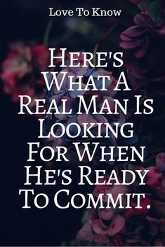 Here's What A Real Man Is Looking For When He's Ready To Commit. – Zodiac Sphere Real Love, Real Man, What Is Love, True Love, My Love, Relationship Problems, Relationship Memes, Relationships, Love Advice