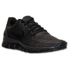 Nike Free 5 0 V4 Print Dames Zwart Antraciet W Schoenen kopen Factory Store Belgie