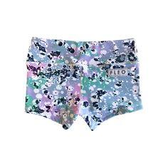 Splatter - spandex shorts by FLEO