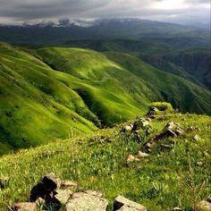 Beautiful countryside, Kazakhstan