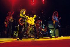 Robert Plant, Jimmy Page, John Bonham & John Paul Jones | Led Zeppelin