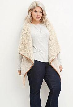 Plus Size Faux Fur Vest | Forever 21 PLUS #forever21plus
