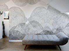 Wallpaper by designersFrédéric Bonnin and Cécile Figuette