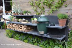 Tuindesign: WWOO Buitenkeuken en Big Green Egg