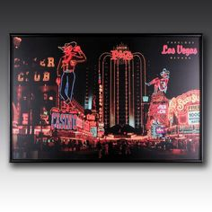 The world famous Vegas strip is brought to life with LED lighting, adding some fun to your walls Vegas Strip, Las Vegas Nevada, World Famous, Casino Games, Some Fun, Bobs, Walls, Led, Lighting