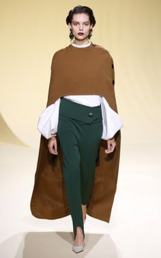 At Marni, ConsueloCastiglioni maintained a delicate balance between the familiar and the not so familiar, yielding a collection that was instantly appealing.