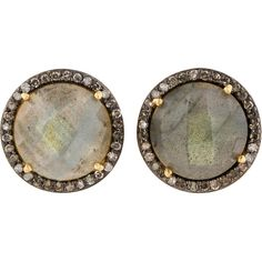 Pre-owned Fine Jewelry Earrings ($250) ❤ liked on Polyvore featuring jewelry, earrings, apparel & accessories, blue, stud earrings, stud earring set, blue stud earrings, fine jewellery and blue jewelry