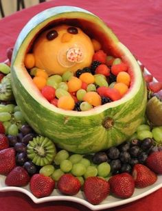 Baby Shower Food Ideas, I think this would be awesome to make for Saturday!
