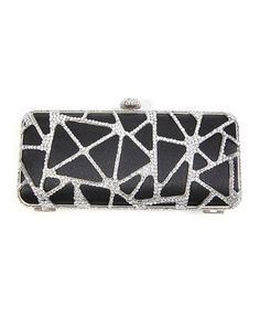 Mosaic Mini Clutch with Rhinestone Frame Black ** Read more reviews of the product by visiting the link on the image.