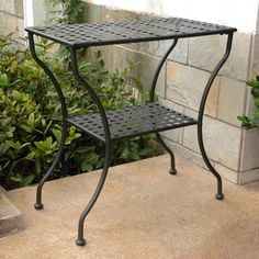 Shop for International Caravan Mandalay Patio Table. Get free delivery at Overstock - Your Online Garden & Patio Shop! Get in rewards with Club O! Mandalay, Table Color, Patio Side Table, Side Tables, Buffet Console, Outdoor Tables, Outdoor Decor, Lattice Design, Decks