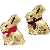 Lindt 3.5-Ounce Chocolate Easter Bunnie