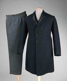 Suit Designer: L.S. Davidson Date: 1903 Culture: American Medium: wool, silk Accession Number: 2009.300.655a–c