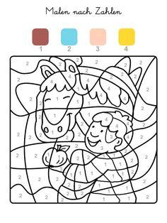 die besten 25 malen nach zahlen pferde ideen auf pinterest   pferde bilder zum ausmalen, malen