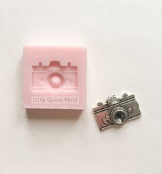 Camera Travel for Fondant Gumpaste Clay resin by LittleQuineMold