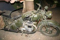 WWII - BSA M20 500cc Motorcycle  (Steve Nimmons)