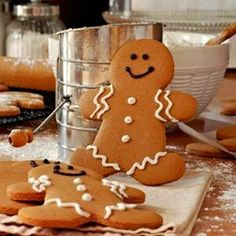 Warm Up the Holidays With Organic Gingerbread ~ Healthy Dinner Recipes