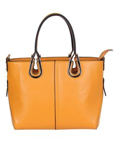 This Yellow Candi Tote is perfect! #zulilyfinds