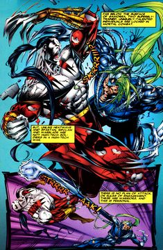From The Beginning: WildStorm Universe - Killer Instinct (WildCATS & Cyberforce, Vol. Marvel Characters, Marvel Heroes, Comic Book Artists, Comic Books, Savage Dragon, The Maxx, Old Comics, 3 Arts, Image Comics