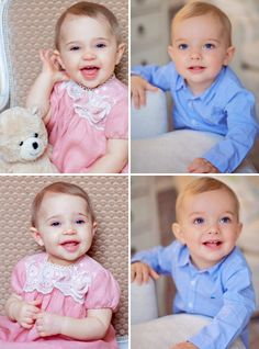 Sister & little brother: Princess Leonore & Prince Nicolas of Sweden