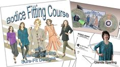 Bodice Fitting Course on DVD Highlights - Sure-Fit Designs