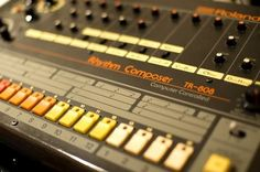 THE Roland Tr-808 Drum Machine -- This is the drum machine that changed the world of music.
