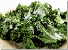 1 large bunch of Kale  1/2 cup cashews, raw (or 1/3 cup raw cashew butter)  1/2 cup soy milk  1/2 tbsp onion flakes or 1 tsp. onion powder  1/2 tbsp (or to taste) VegBase, nutritional yeast, or vegetable bouillon (look for a salt-free option)