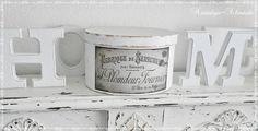Schachtel Box Shabby chic  von Nostalgie-Schmiede auf DaWanda.com