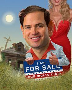 Marco Rubio: Poor Little Rich Boy Runs Into Real Estate Trouble