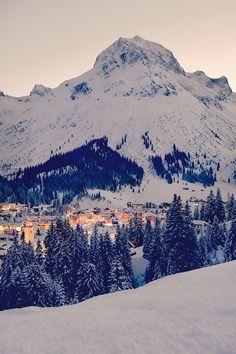 Lech am Arlberg Austrian Alps
