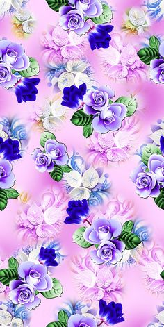 super Ideas for wallpaper iphone floral backgrounds pattern print Flowery Wallpaper, Flower Background Wallpaper, Cute Wallpaper Backgrounds, Wallpaper Iphone Cute, Flower Backgrounds, Cellphone Wallpaper, Colorful Wallpaper, Phone Wallpapers, Print Wallpaper