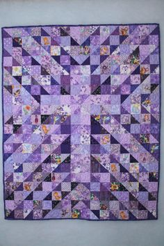 "Baby Quilt entitled ""The Gift"""