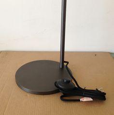 Atelier: NEW Navire floor lamp in bronze and brass